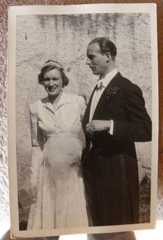 Hochzeit auf Schloß Wittgenstein, 1951 Maximilian Josef Philipp Hubertus Maria, Graf von Korff gen. Schmising und Barbara Staudt Jutta Irmgard Caroline zu Sayn-Wittgenstein-Hohenstein