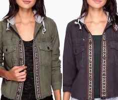 Great for levi's skateboard collection light summer jacket strong cordura fabric brand new womens jackets from top store Collar Designs, Tribal Fashion, Jacket Pattern, Military Jacket, Hooded Jacket, Free People, Jackets For Women, Summer Jacket, Skateboard