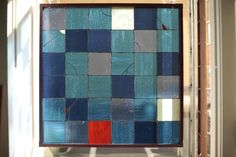 ZN Stained Glass - Patterns in Blues