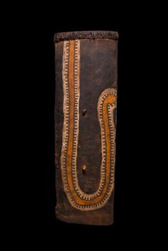 shield comes from the Eastern Highlands of Papua New Guinea
