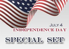 Don't miss our NEW SPECIAL PROMOTION! Independence Day Promotion! Starts now- ends on July 31!