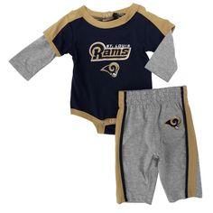 NFL Team Apparel Infant Boy St. Louis Rams Bodysuit and Pant Set #VonMaur