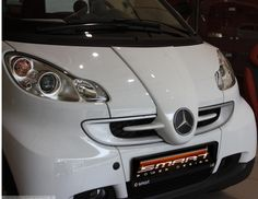 Smart car 451 F1 McLaren Front End Grille in color white