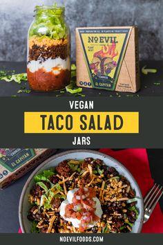 Vegan Foods, Vegan Vegetarian, Vegetarian Recipes, Healthy Recipes, Mexican Food Recipes, Jar Recipes, Cooking Recipes, Vegan Main Dishes, Cinco De Mayo