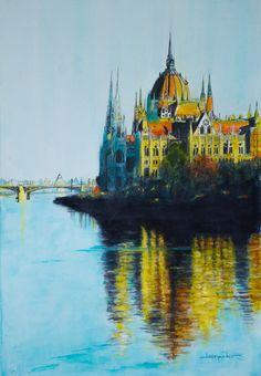 Arriving in Budapest. Jean Porter.