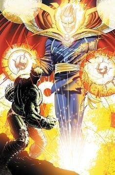 Dr. Strange VS Hulk by John Romita Jr