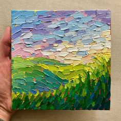 Apparently I have Spring on the brain...🐰 I'm starting a new gig tomorrow, so I may be away from the easel for a while. Wish me luck!! . . . #spring #bright #grass #field #pastel #pastelcolors #hills #clouds #landscape #color #nature #naturelovers #colorcolorcolor #creative #creativehappylife #art #artwork #artist #paint #painting #oilpainting #oilpaint #painter #impressionism #fineart #texture #sfartist #bayareaartist #instaart #instaartist