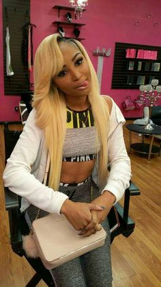 Sew in hairstyles for thanksgiving 2017 blonde Dope Hairstyles, Weave Hairstyles, Pretty Hairstyles, Straight Hairstyles, Blonde Weave, Natural Hair Styles, Short Hair Styles, Natural Beauty, Look 2018