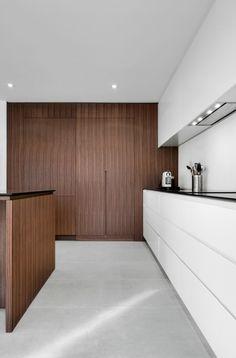 Intérieur neige et bois pour APPAREIL architecture - Index-Design.ca