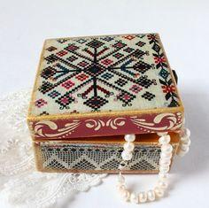 Christmas gift  Christmas Jewelry box Gifts by ArtKaleydoskop2015