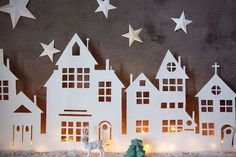 How to make a really magical town DIY! ;)