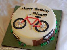 Bicycle Cake My Cakeology