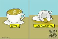 Idees vol vrees African Jokes, Afrikaans Language, Quotes For Mugs, Afrikaanse Quotes, Sense Of Life, Have A Happy Day, Everything Funny, Laugh Out Loud, Puns