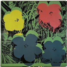 Andy Warhol Ten Foot Flowers 1969