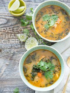Paleo Thai Red Curry Soup (Instant Pot) | Diane Sanfilippo