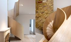 Stairs - Helically Fanned - TinTab - Contemporary, bespoke, design & manufacturing in Newhaven, East Sussex