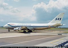 SAS Scandinavian Airlines System Boeing 747-283B - airliners.net