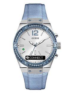 143.25 - GUESS Women s Stainless Steel Connect Smart Watch - Amazon Alexa a9d2c9b91a