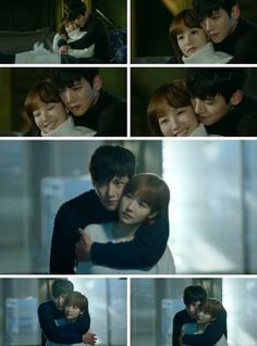 Ji chang wook - park min yong. Love this couple when they hugging like that