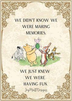 Classic Winnie The Pooh Quotes, Set of 5, Chrisptopher Robin, Piglet, Tigger, Eyore, Digital Prints, Downloads, Nursery, Baby Shower Gift