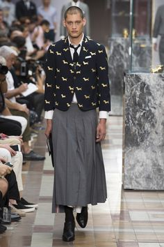 Thom Browne Spring 2018 Menswear Collection Photos - Vogue