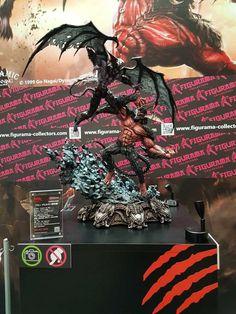 Amon vs Devilman (Figurama Statue) Wonder-festival
