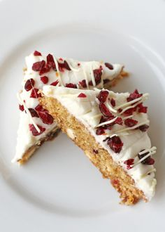 Glorious Treats » Cranberry White Chocolate Bars {Recipe}  just like Starbucks