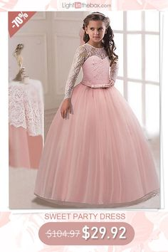 Sweet girls dress on sale. Daughters' gift,shop now! Girls Dresses Online, Girls Formal Dresses, Girls Party Dress, Dresses For Teens, Dresses For Sale, Flower Girl Dresses, Dress Party, Wedding Dresses, Kids Outfits Girls