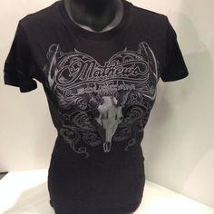 Mathew's Raven T-Shirt (Ladies) All Sizes