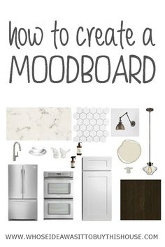 Learn how to make moodboards and make fewer home decor purchases that you end up regretting later. Making them is so fun and totally addictive!