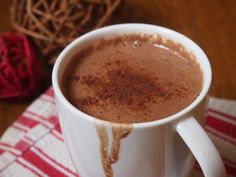 Curl up with a metabolism-boosting cup of Cinnamon Spiced Hot Cocoa: http://bit.ly/1BBIGUc #PureFuel #recipe