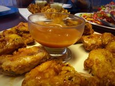 Spur Style Wings / My Version recipe by Mrs Admin (mashuda) posted on 14 Mar 2017 . Recipe has a rating of by 3 members and the recipe belongs in the Chicken recipes category Kos, Cook Up A Storm, Buffalo Wings, Chicken Wing Recipes, Home Food, Food Categories, Fabulous Foods, Food Cravings, Chicken Wings