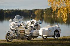 LEIF LINDWALL 4 1024x685 Lief Lindwalls Honda Goldwing and Quantum GL Trailer   Customer Photos