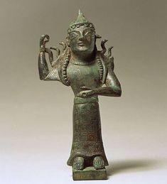 Богиня  в шлеме-Сицилия-580 г.до н.э.