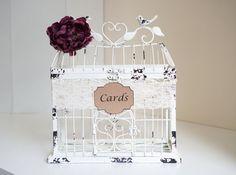 Wedding Cardholder / Plum Wedding Cardholder / от PaperWell