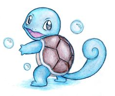 Squirtle by shiroiwolf on deviantART