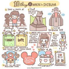 10 things in shiibuya