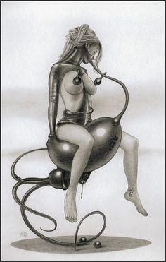 Alice in Rubberland - Zeichnung Nr. 31488
