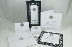 Elegant Wedding Invitations with Crystals | Marriage Ceremonies Invitations With Crystal Brooch | Trendy Mods.Com