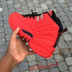 Infrared All Over Air Jordan 12 - mens cheap slip on shoes, mens cheap slip on shoes, mens shoes size 13 Sneakers Mode, Sneakers Fashion, Fashion Shoes, Shoes Sneakers, Air Jordan Sneakers, Jordans Sneakers, Women's Fashion, Zapatillas Nike Jordan, Nike Huarache