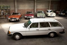 1979 Mercedes-Benz 300TD Station Wagon Id give my eye teeth for one of these old Benz wagons.