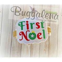 First Noel BuggaBand Design-BuggaBand Designs