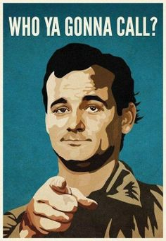 Ghostbusters starting the incomparable and humble Bill Murray Movies Showing, Movies And Tv Shows, Die Geisterjäger, Richard Hamilton, Jasper Johns, Great Movies, Paranormal, Movie Quotes, Illustration
