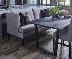 SIGNATURE 410 Spisesofa Outdoor Furniture Sets, Outdoor Decor, Dining Bench, Home Decor, Decoration Home, Table Bench, Room Decor, Home Interior Design, Home Decoration