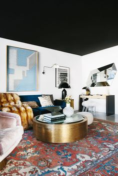 This Is How a Cool Young Painter Decorates Her West Hollywood Condo via @MyDomaine