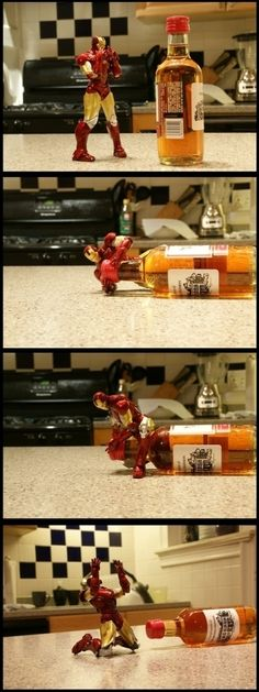 come on Iron man