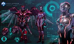 ARILSSMAN A.N.G.E.L. Project - FIA by ~Katase6626 on deviantART [sci-fi]