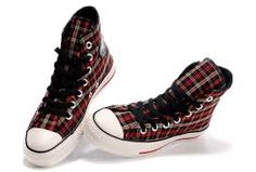 Image result for converse all stars hi tartan boots size 5