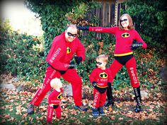 DIY The Incredibles costume - SUPER easy with hardly any sewing. (for M)