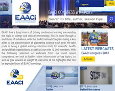 The European Academy of Allergy and Clinical Immunology, EAACI, is an association including 52 European National Societies, more than academicians, research investigators and clinicians. Allergy Asthma, Being In The World, Allergies, Clinic, Presentation, Author, Learning, Videos, Studying